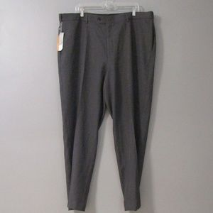 NEW Savane Straight Fit Grey Wolf Dress Pants 42
